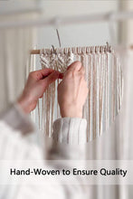Load image into Gallery viewer, Macrame Wall Hanging Magazine Holder Organizer