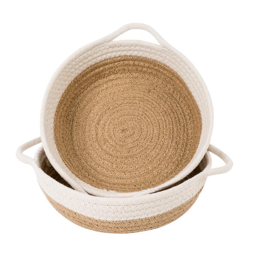 Cotton Rope Basket 2 PCs