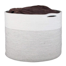 Load image into Gallery viewer, XL Woven Laundry Storage Bin