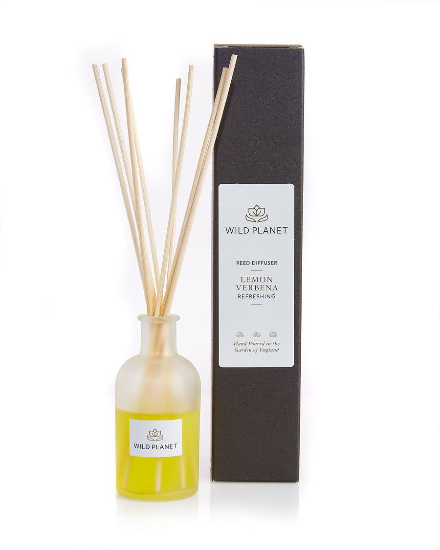 Wild Planet Natural Reed Diffuser - Lemon Verbena