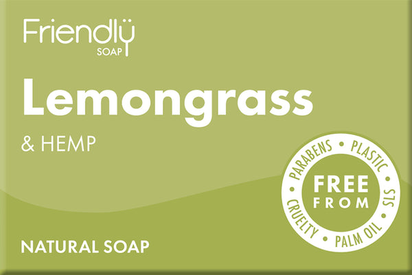 Friendly Soap Bar | Lemongrass and Hemp