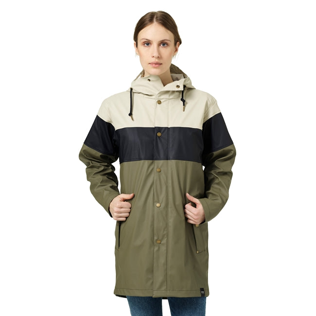 Tretorn | Wings Eco Plus Raincoat | Sand/Navy/Field Green