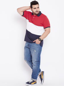 plus size polo tshirt in India