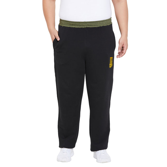 bigbanana Oxford-black Solid Track Pants