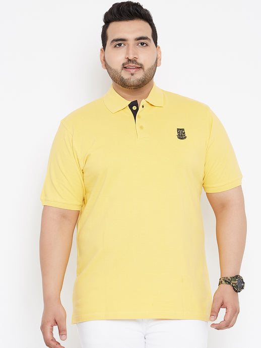 Bigbanana Tom Pique Polo Yellow