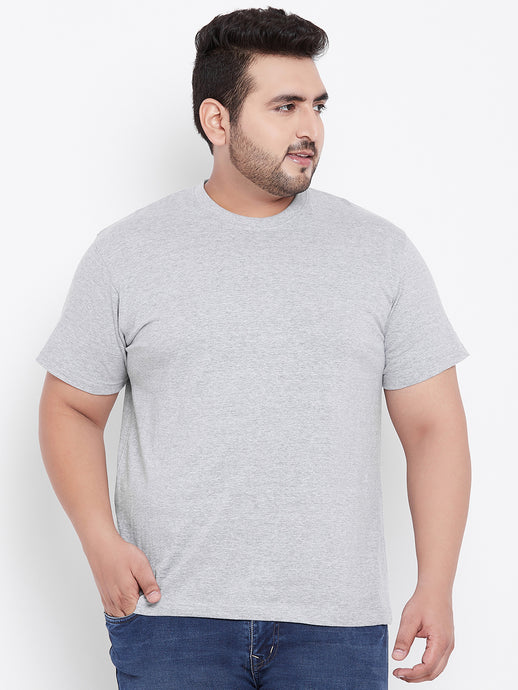 bigbanana Tony Grey Round Neck T-Shirt - Bigbanana