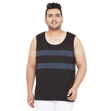 bigbanana Archer Black Striped Innerwear Vest