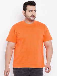 bigbanana Tony Orange Round Neck T-Shirt - Bigbanana