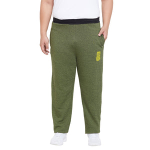 bigbanana Oxford-Olive Solid Track Pants