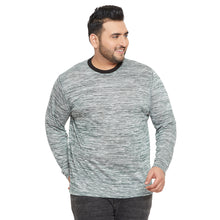 bigbanana Adelaide Grey Solid Round Neck T-shirt