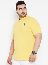 Bigbanana Tom Pique Polo tshirt Yellow