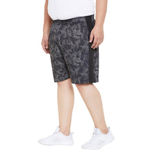 bigbanana Dawson Grey Printed Regular Fit Sports Shorts