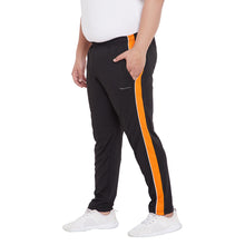 bigbanana Julian Black Colourblocked Antimicrobial Track Pants