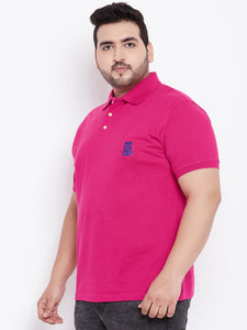 bigbanana TIM Magenta Polo T-Shirt - Bigbanana