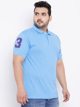 bigbanana TIM Sky Blue Polo T-Shirt