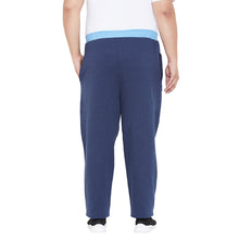 bigbanana Oxford-Navy Solid Track Pants