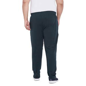 bigbanana Kaiden Teal Solid Antimicrobial Track Pants