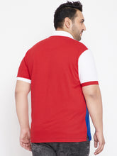 bigbanana Perse Colorblocked Polo T-Shirt