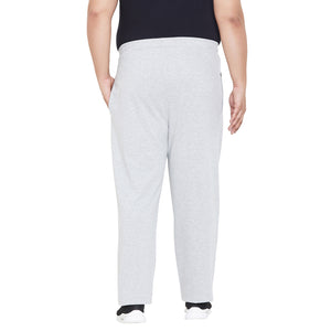 bigbanana Oxford-Grey Solid Track Pants