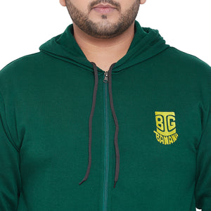 bigbanana Gale-BG Solid Antimicrobial Hooded Sweatshirt