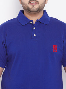 bigbanana TIM Royal Blue Polo T-Shirt - Bigbanana