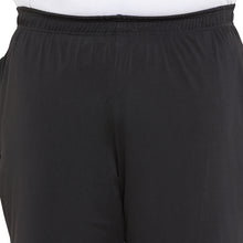bigbanana Fletcher Black Solid Regular Fit Sports Shorts