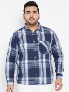 Long Sleeves ALFIE Yarn Dyed Casual Shirts