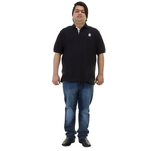 Bigbanana Tom Pique Polo Black - Bigbanana