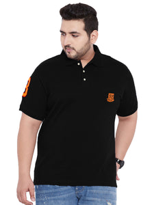 bigbanana TIM Black Polo T-Shirt