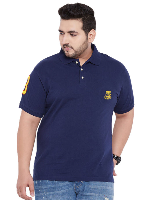 bigbanana TIM Navy Blue Polo T-Shirt