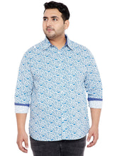bigbanana Dan White Printed Shirt