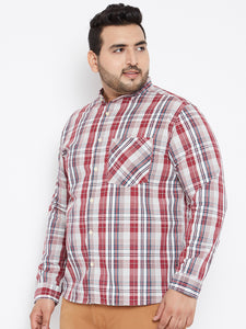 Long Sleeves GEORGE  Yarn Dyed Casual Shirt