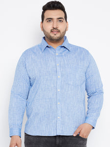 Plus size Long Sleeves ISSAC Casual Shirt