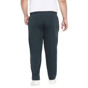 bigbanana Leise Teal & White Colourblocked Antimicrobial Track Pants