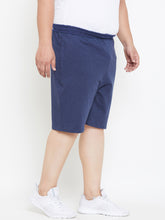 bigbanana Sal Navy Solid Antimicrobial Shorts