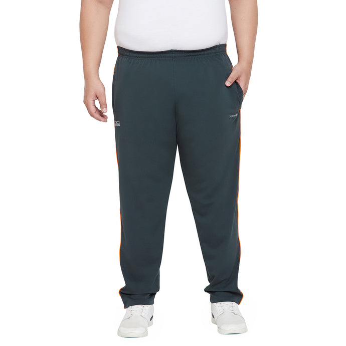 bigbanana Offey Teal Solid Antimicrobial Track Pants