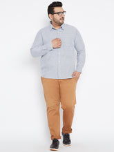 Plus size Long Sleeves OLIVER  Casual Shirts