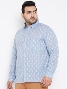 plus size Long Sleeves SAM Casual Shirt