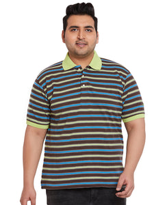 bigbanana Spey Striped Polo TShirt