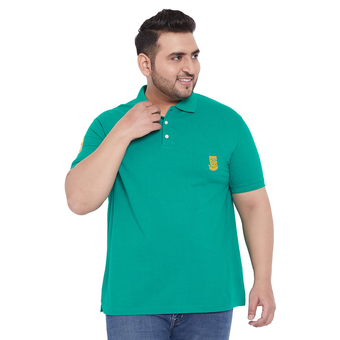 bigbanana TIM Sea Green Polo T-Shirt