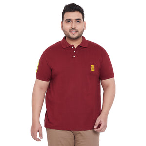 bigbanana TIM Maroon Polo T-Shirt