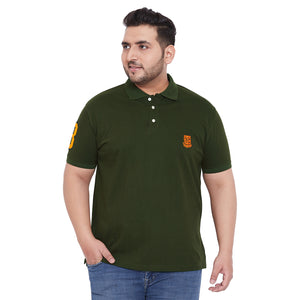 bigbanana TIM Olive Polo T-Shirt