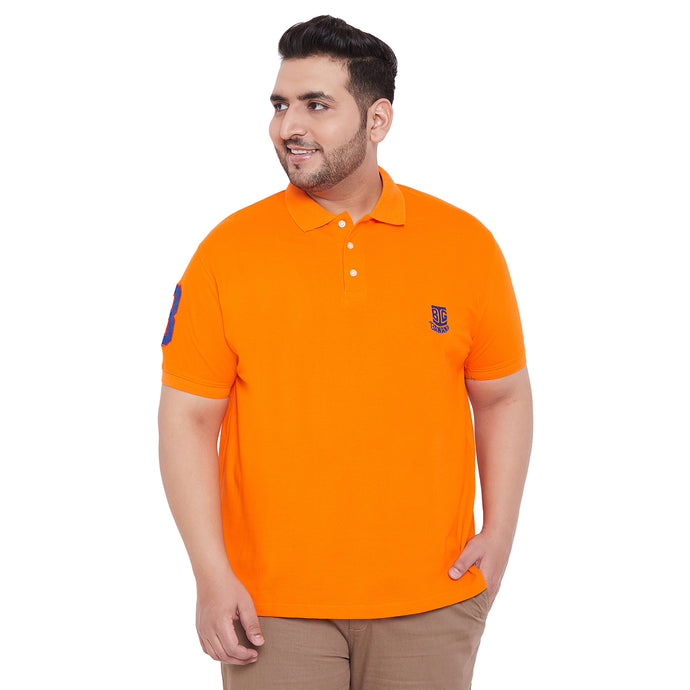 bigbanana TIM Orange Polo T-Shirt
