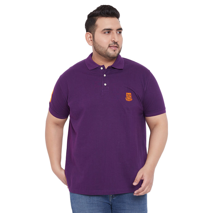 bigbanana TIM Purple Polo T-Shirt