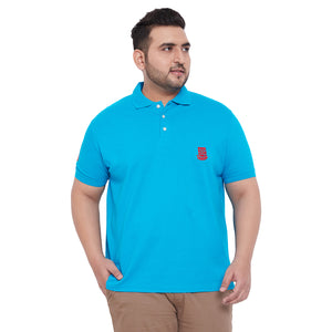 bigbanana TIM Turquoise Polo T-Shirt