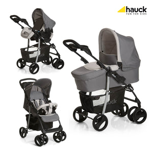 Hauck Shopper SLX Travel System Trio Set - Stone/Grey