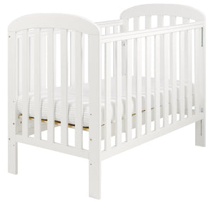 East Coast Anna Dropside Cot, White