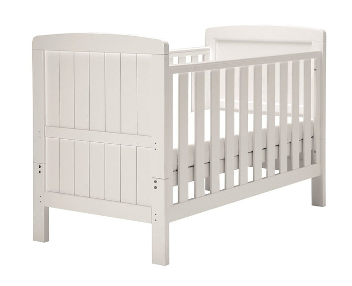 East Coast Nursery Austin cot bed, White