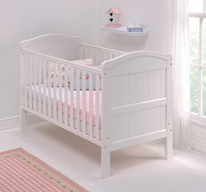 East Coast Nursery Country Cot Bed, White