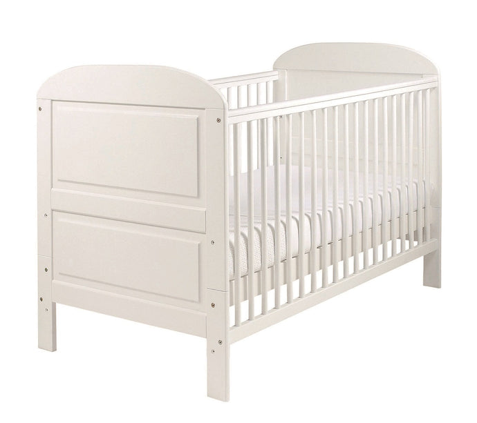 East Coast Nursery Angelina cot bed, White
